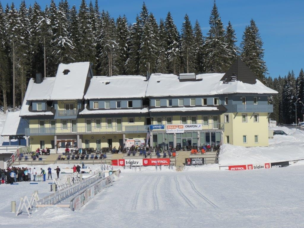 GERARD® Corona Charcoal POKLJUKA BIATHLON CENTER, SLOVENIJA POKLJUKA BIATHLON CENTER, SLOVENIJA