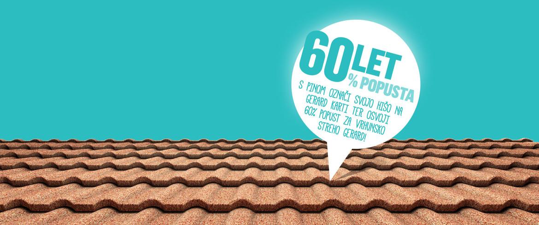 60 let, 60% popusta