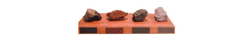 Skrivna sestavina lepote kritine gerard: Posip iz naravnih vulkanskih kamnin